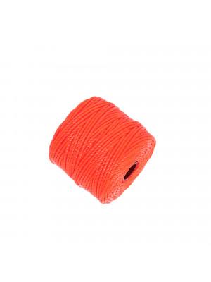 Super-Lon Bead Cord TEX400, spessore 0,9 mm., colore ARANCIONE FLUO