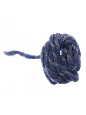 Filo di lana grosso colore BLU