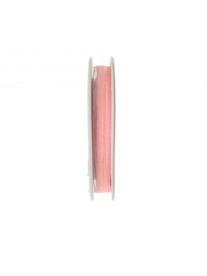 Organza, alta 6 mm., colore Rosa Baby