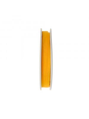 Organza, alta 6 mm., colore Giallo Scuro