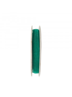 Organza, alta 6 mm., colore Verde Smeraldo Chiaro