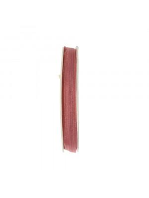 Organza, alta 6 mm., colore Rosa Antico