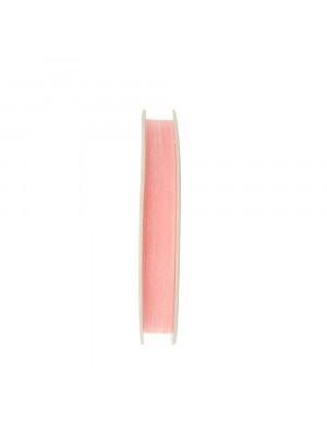 Organza, alta 10 mm., colore Rosa Baby