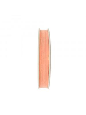 Organza, alta 10 mm., colore Salmone