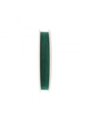 Organza, alta 10 mm., colore Verde Smeraldo