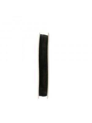 Organza, alta 10 mm., colore Nero