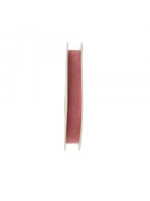 Organza, alta 10 mm., colore Rosa Antico