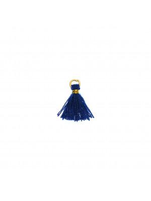 Nappina in Cotone, lunga 13 mm. circa, colore BLU ELETTRICO