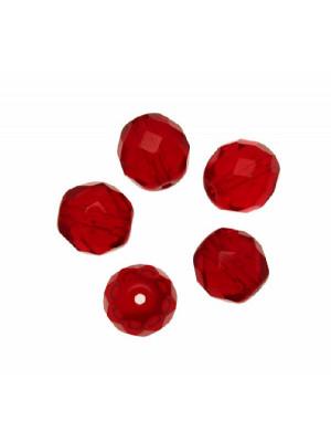 Mezzo cristallo colore Rosso