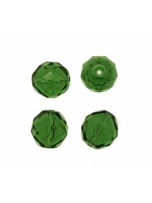 Mezzo cristallo colore Verde Smeraldo