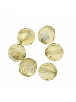 Mezzo cristallo colore Verde chiarissimo lime AB