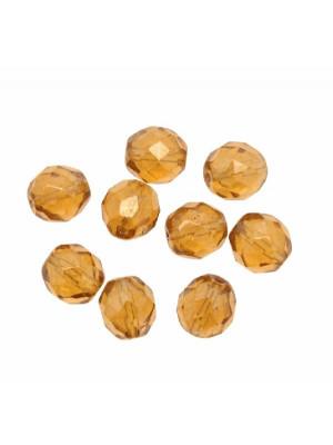 Mezzo cristallo colore Topazio listrato chiaro
