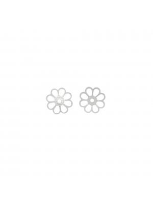 Coppetta filigranata 9 mm. in Argento 925