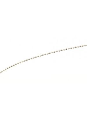 Catena a palline, spessore 2,5 mm.