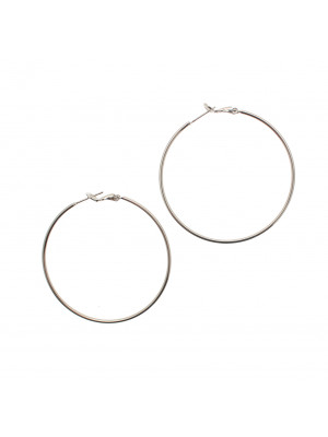 Cerchio liscio, spessore 1,6 mm., con chiusura a molla, diametro cerchio 40 mm. (QUALITA' SUPERIORE)