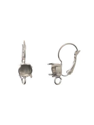 Monachella chiusa con porta strass (gemma tonda conica SS39), 22x13 mm., CONF.2 PZ