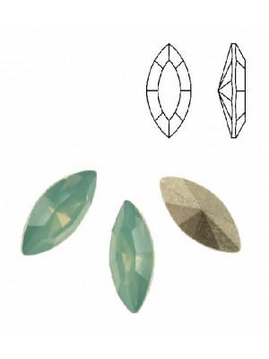 Gemma a navetta sfaccettata, in plexiglass, colore PACIFIC OPAL