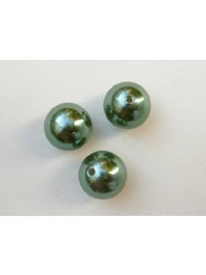 Perla effetto perlato in resina liscia colore Erinite