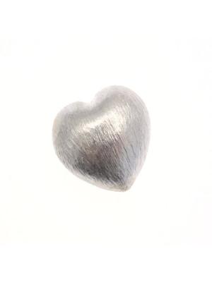 Distanziatore satinato a forma di cuore