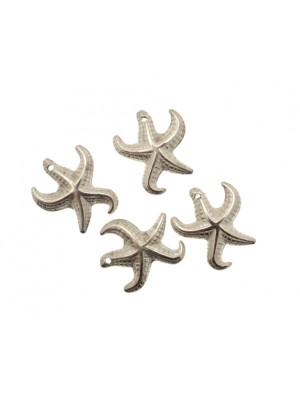 Ciondolo a forma di stella marina 20x22 mm. in resina
