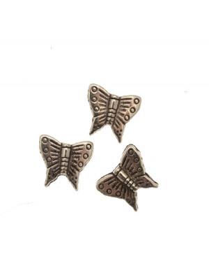 Distanziatore piatto a farfalla con foro passante 15x13 mm. in resina