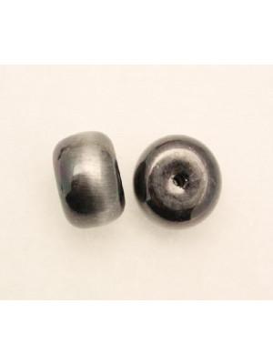 Distanziatore a rondella liscia grossa tipo copertone 13x20 mm. in resina