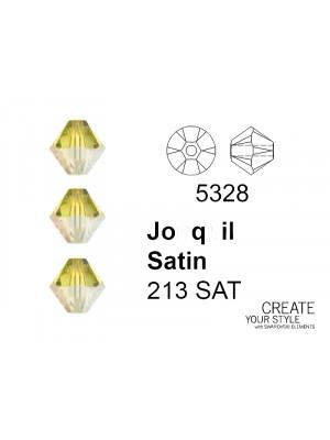 Swarovski Bicono JONQUIL SATIN - 5328