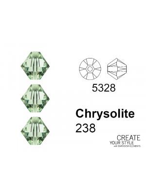 Swarovski Bicono CHRYSOLITE - 5328