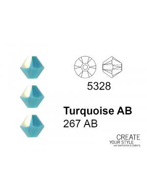 Swarovski Bicono TURQUOISE AB - 5328