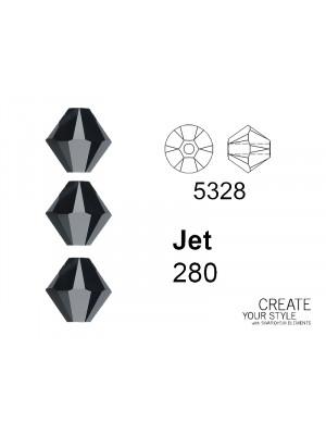 Swarovski Bicono JET - 5328