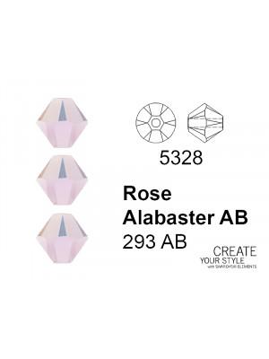 Swarovski Bicono ROSE ALABASTER AB - 5328