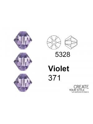 Swarovski Bicono VIOLET - 5328