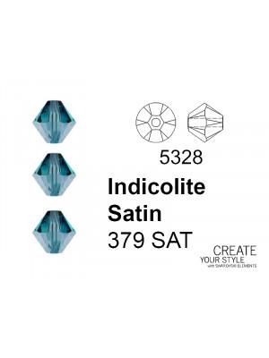 Swarovski Bicono INDICOLITE SATIN - 5328