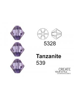 Swarovski Bicono TANZANITE - 5328