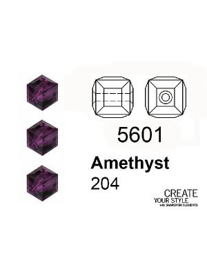 Swarovski Cubo AMETHYST - 5601