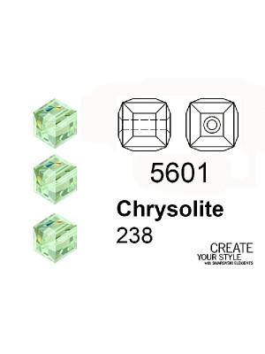 Swarovski Cubo CHRYSOLITE - 5601