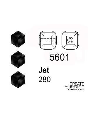 Swarovski Cubo JET - 5601