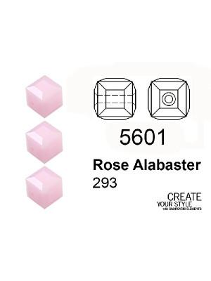 Swarovski Cubo ROSE ALABASTER - 5601