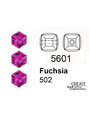 Swarovski Cubo FUCHSIA - 5601