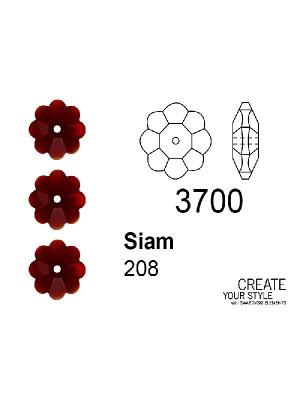 Swarovski Rondella a Fiore SIAM - 3700