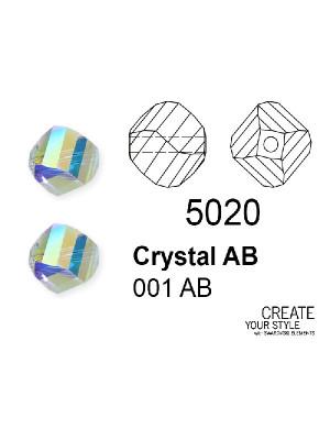 Swarovski Patata CRYSTAL AB - 5020