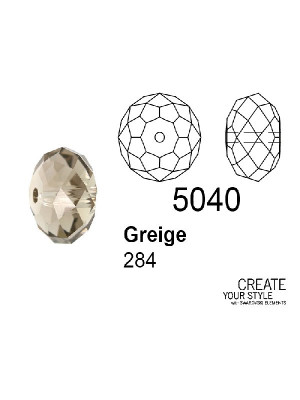 Swarovski Rondella a Cipolla GREIGE - 5040