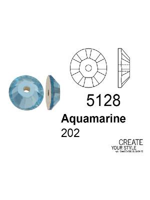 Swarovski Paiette AQUAMARINE - 5128
