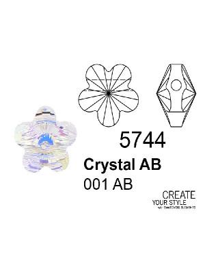 Swarovski Fiore CRYSTAL AB - 5744