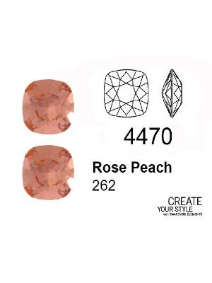 Swarovski Gemma Quadrata ROSE PEACH - 4470