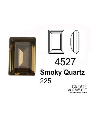 Swarovski Gemma Rettangolare SMOKY QUARTZ - 4527