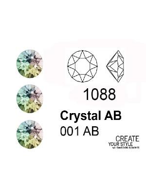 Swarovski Gemma Tonda Conica CRYSTAL AB - 1088