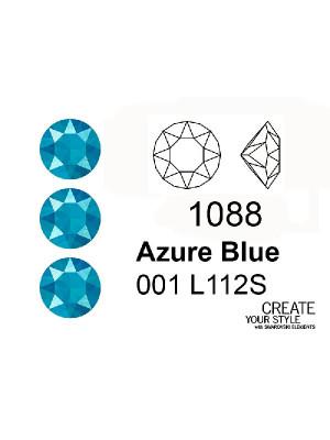 Swarovski Gemma Tonda Conica AZURE BLUE - 1088