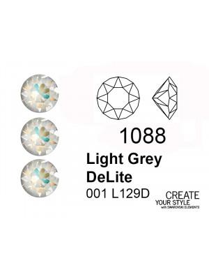 Swarovski Gemma Tonda Conica LIGHT GREY DELITE - 1088