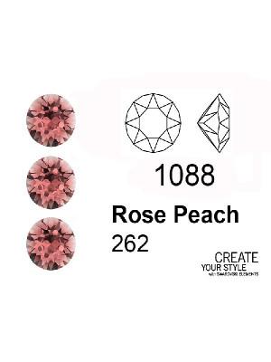 Swarovski Gemma Tonda Conica ROSE PEACH - 1088
